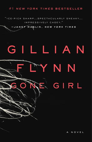 Book cover for Gone Girl by Gillian Flynn