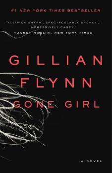 Book cover for Gone Girl by Gillian Flynn