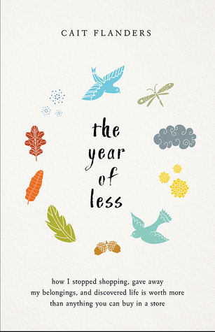 Book cover for The Year of Less