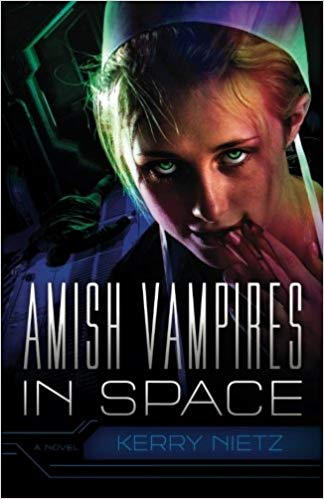 Amish Vampires in space book cover