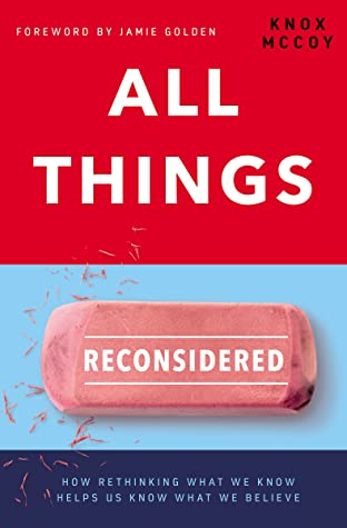 All things reconsidered book cover
