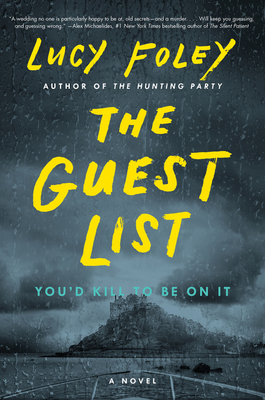 The guest list book cover