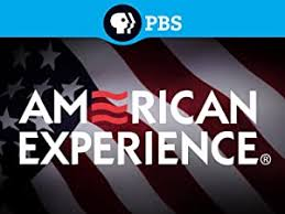 PBS American Experience logo with the American flag