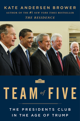 Team of five book cover