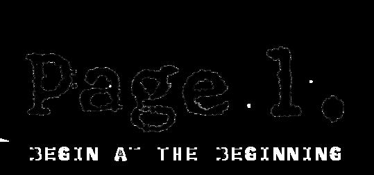 Page 1 books logo
