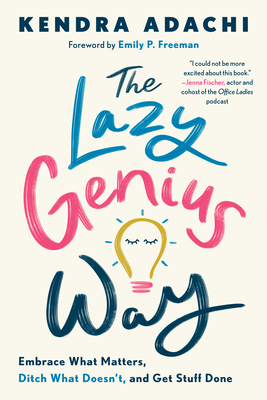 The lazy genius way book cover