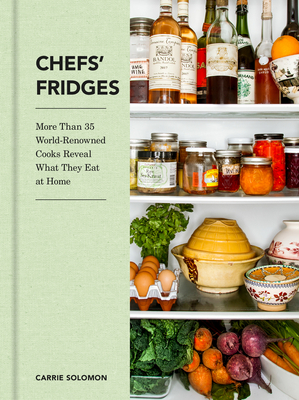 Chefs fridges book cover